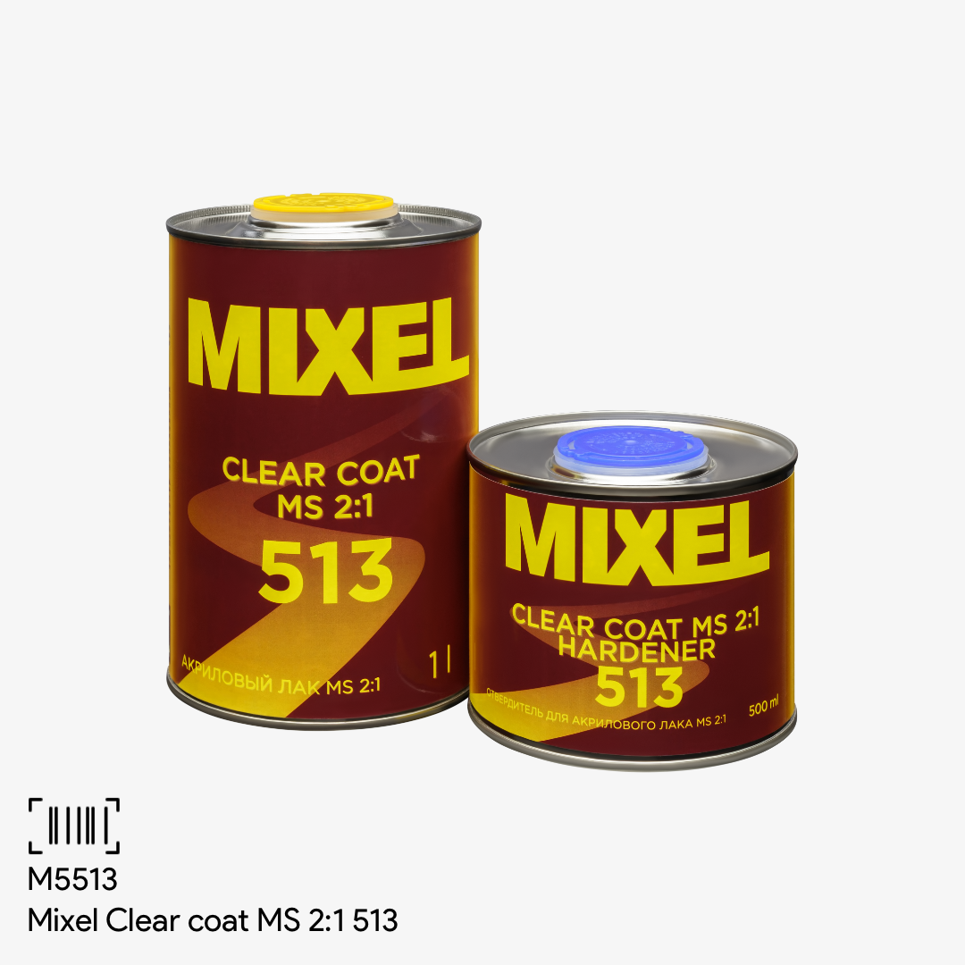 Mixel Clear coat MS 2:1 513
